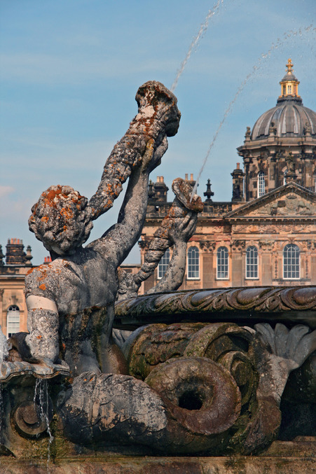 castle howard fountain representing long term relationships with pension trustees